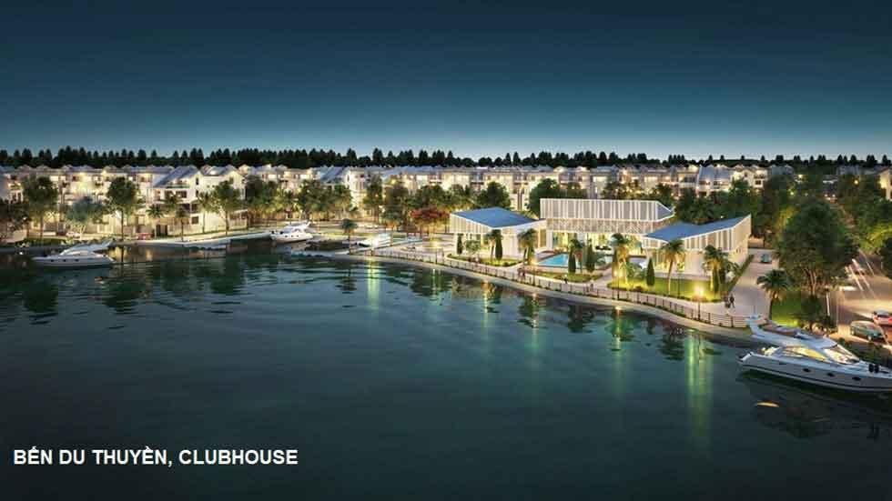 Bến du thuyền, Clubhouse