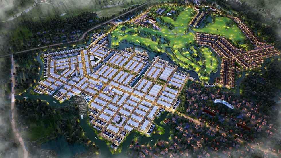 Phối cảnh dự án Bien Hoa New City